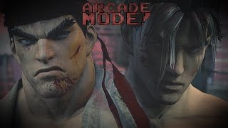 RYU vs. JIN KAZAMA | ARCADE MODE! [EPISODE 4]