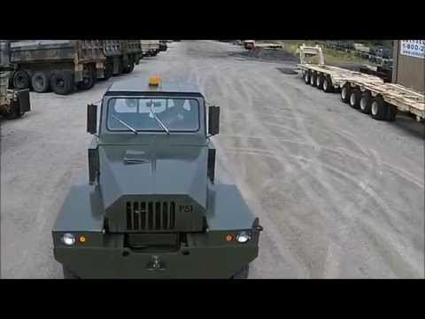 PSI MB-4 Tow Tractor Military Aircraft Tug