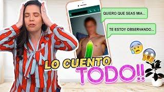 LO CUENTO TODO!!! ENFRENTÉ A MI ACOSADOR, ME ENVÍA FOTOS😱 NOPOR❌  | Camila Guiribitey
