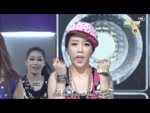 [Vietsub] T-Ara - Lovey Dovey @ 120108 SBS Inkigayo