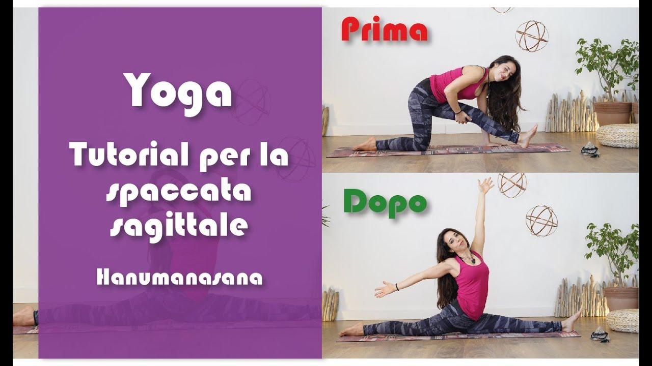 Yoga   Tutorial per la spaccata sagittale   Hanumanasana