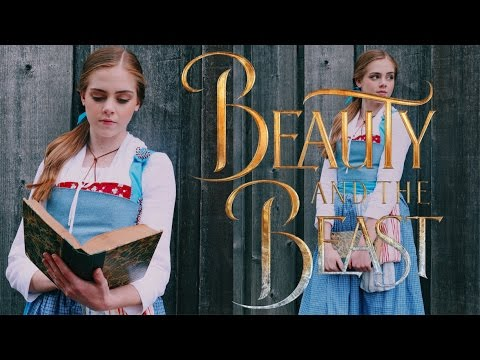 BEAUTY AND THE BEAST 2017 Belle Makeup Hair & Outfit