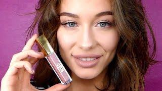 видео Бежевая помада и естественный макияж