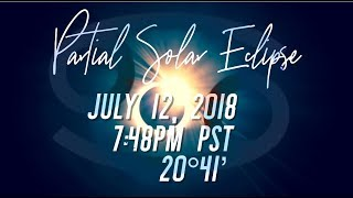 Partial Solar Eclipse in Cancer July 12, 2018 Quantum Astrology Translation