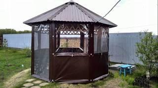 Современные универсальные мягкие окна из ПВХ для беседок, цена в Сургуте
