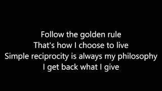 Sands of Time/The Golden Rule - Lyrics (Starkid
