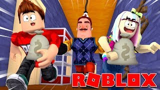 Roblox | Rob Hello Neighbor's House | 2 Player