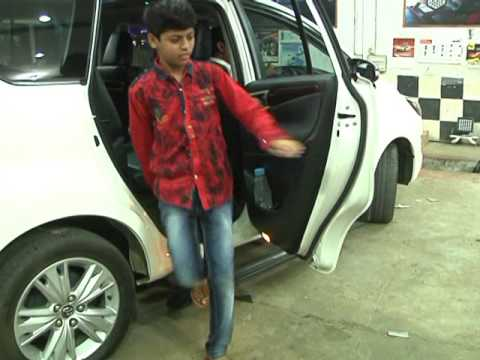 ARSHAD KHAMMAM CAR IN