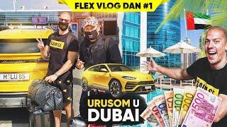 PUTUJEM LAMBORGHINI URUSOM U DUBAI - FLEX VLOG #1 *put 100.000e*