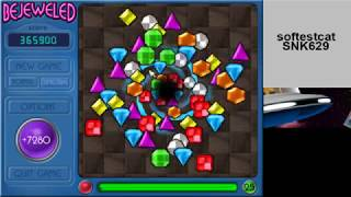 Bejeweled Deluxe:  Reaching Level 27 in Timetrial