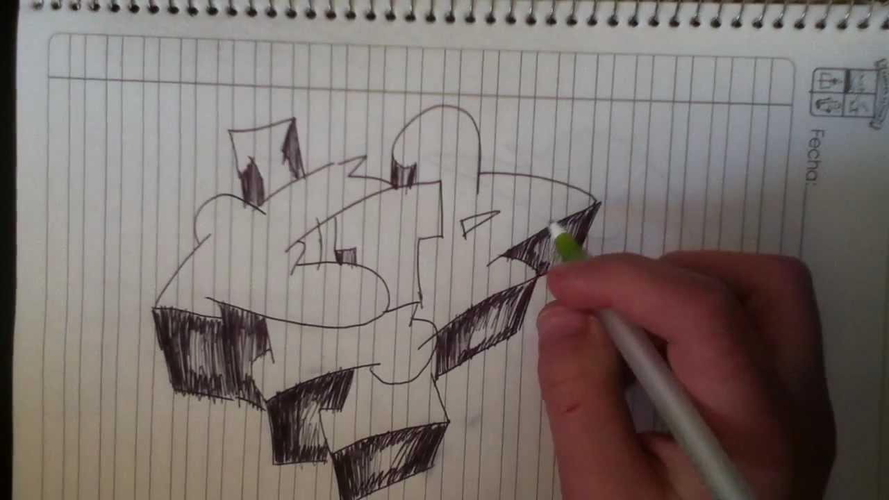 Como hacer un graffiti en 3D