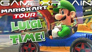 It's Luigi Time! Luigi Finally Coming to Mario Kart Tour! (+ Halloween Tour Announced)