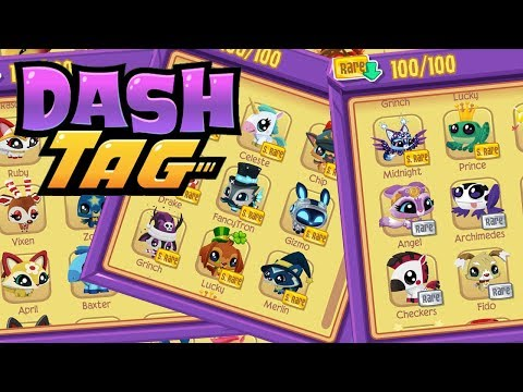 Reviewing ALL 100 Pets On Dash Tag | Dash Tag Endless Runner Game