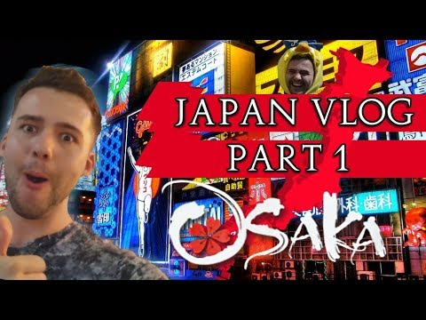 A Peasants Vlog of Japan: Pt.1 - Travel, Dubai, Osaka & The Final Fantasy VR Ride!