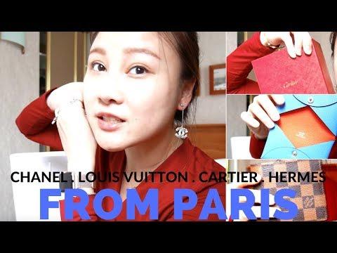 CARTIER LOVE BRACELET + HERMÈS + CHANEL + LOUIS VUITTON FROM PARIS | Cherry Tung