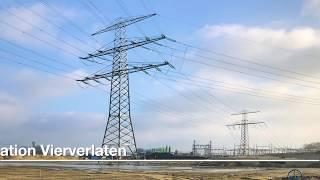 Oude mast maakt plaats voor nieuw 380kV-station op Vierverlaten