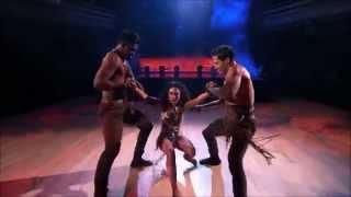 Val, Janel & Keo - Trio Dance - Salsa