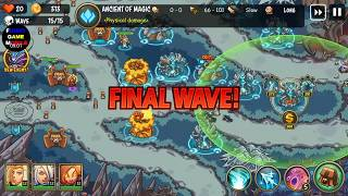 FGMobile - Empire Warriors TD: War Of Heroes - Level 30 Vs Boss ( Normal )