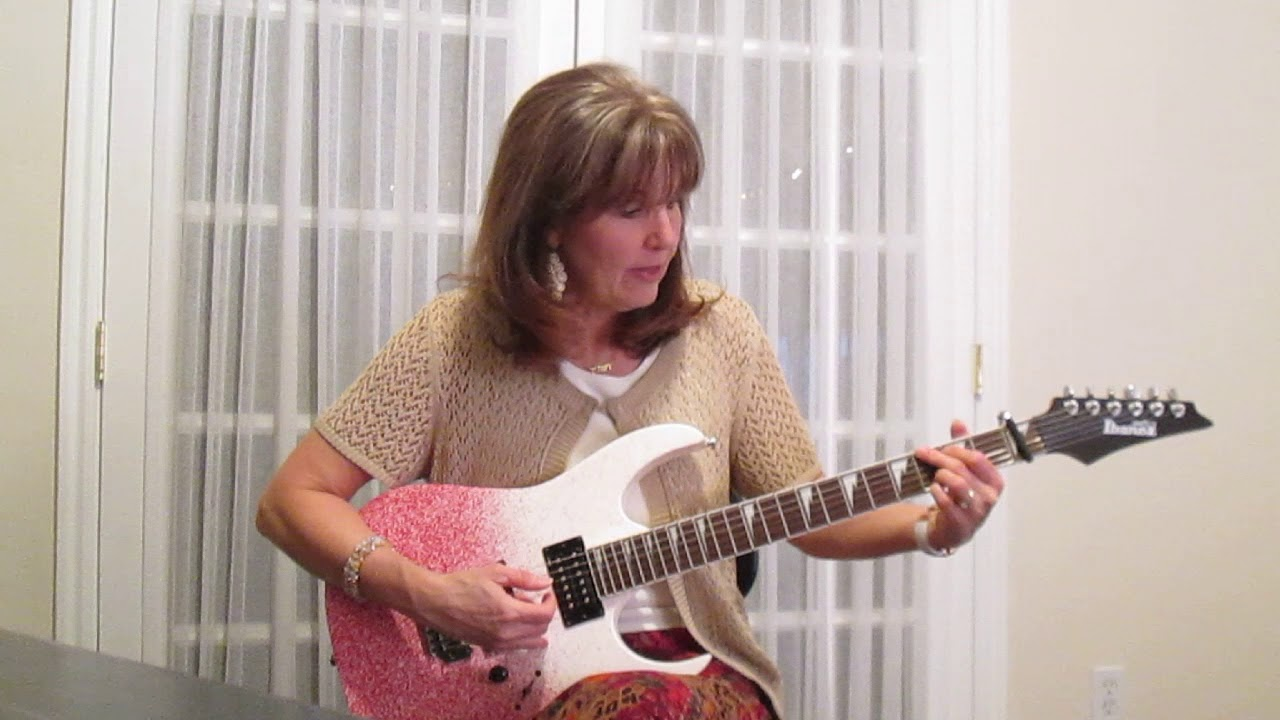 Leather and Lace Stevie Nicks and Don Henley Guitar Tutorial