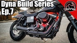 Harley Dyna Build Series Ep.7 - Exhaust, Air Cleaner, and FuelPak3