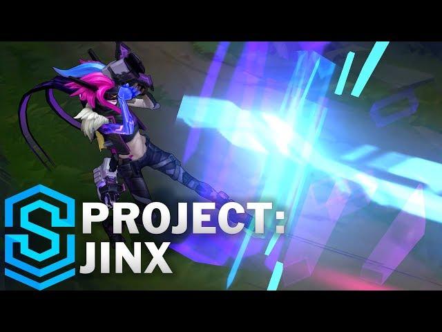 PROJECT: Jinx Skin Spotlight - Pre-Release - League of Legends