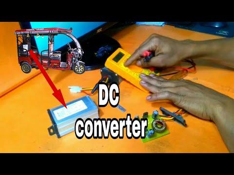 E rickshaw controller 48v DC 12 DC converter
