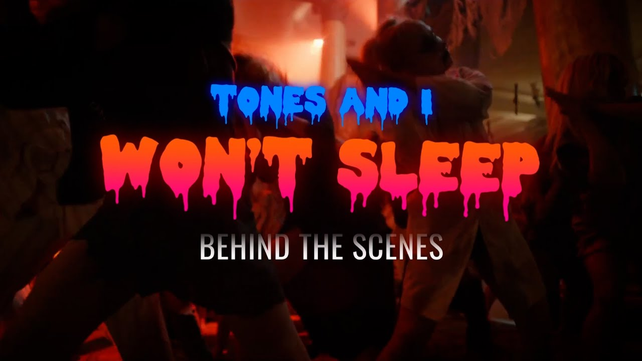 Download TONES AND I - WON'T SLEEP (BEHIND THE SCENES)