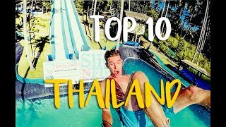 10 of THE BEST things to do in Thailand!!