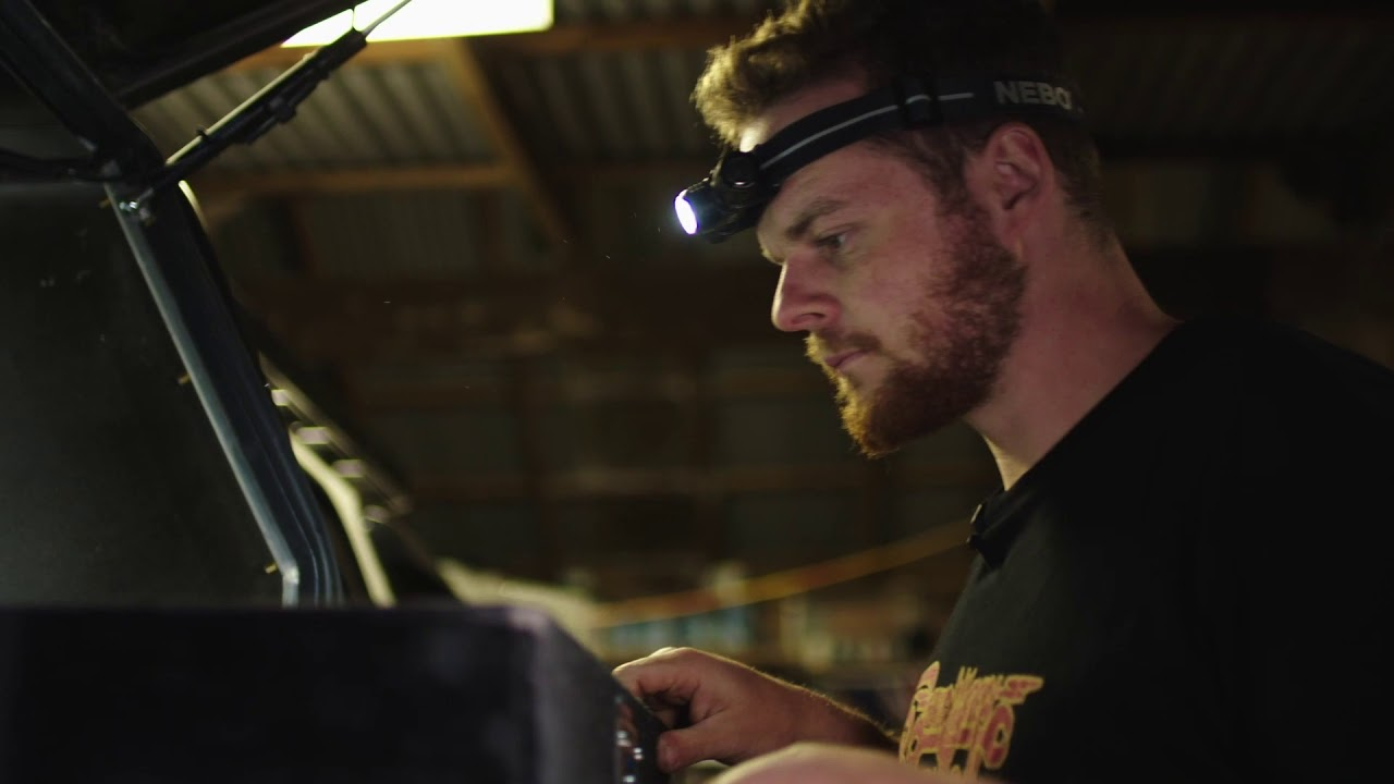 Jocko 4WD 24-7 Introduces The New NEBO TRANSCEND Head Torch