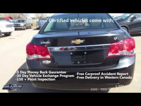 Used Car for Sale In Lloydminster | 2012 Chevrolet Cruze LT | Stk#19539A