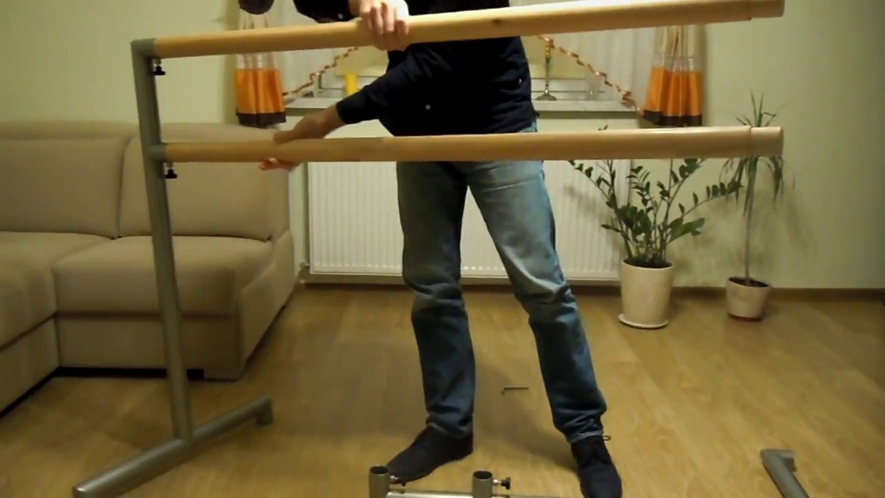 how to build a ballet barre portable