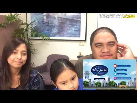 Family Reacts to CHARISA FAITH - STAND BY YOU- ELIMINATION 2 - Indonesian Idol Junior 2018