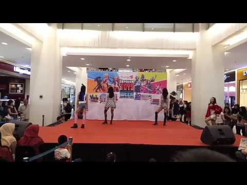 Mystique @Pluit [Black Pink Dance Cover] - Whistle +Playing with fire+As if it's your last remix