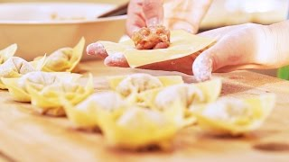 7 Cool Ways to Wrap Wonton, CiCi Li