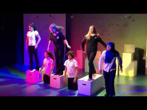 Dubai College Drama students create Frantic Assembly inspired performances