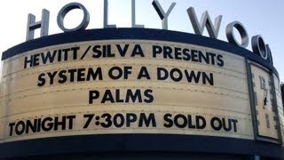 System of a Down Live @ The Hollywood Bowl, Hollywood, CA, 7/29/2013