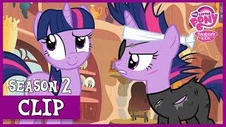 Twilight Sparkle visits Past Twilight (It's About Time)   MLP: FiM [HD]