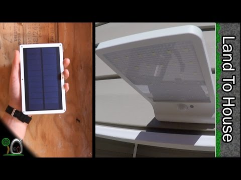 Solar LED Light by Macupon