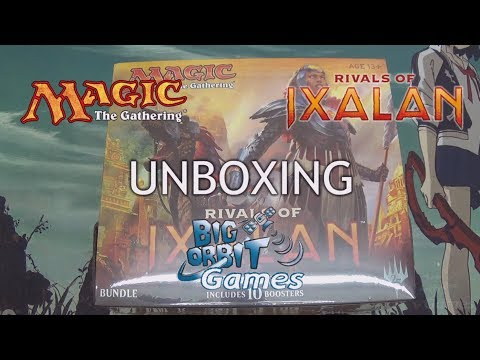 Magic The Gathering: Rivals of Ixalan Bundle Unboxing