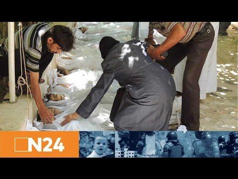 N24 Nachrichten - Giftgasangriff in Syrien tötet viele Kinder