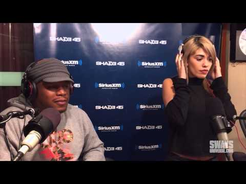 Carlos Santana's Daughter Stella Freestyle-Sings Live on Sway in the Morning