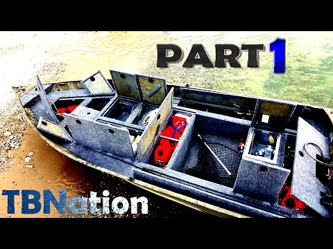 14ft Jon Boat To Bass Boat Tbnation Youtube