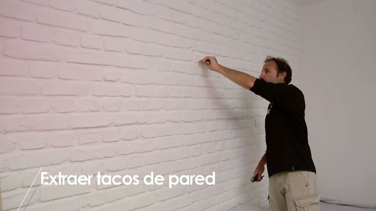 Cómo Extraer Tacos De La Pared Bricomanía Youtube