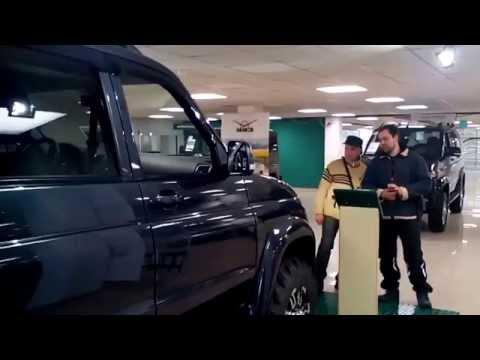 УАЗ Патриот .цены в салоне +доп.оборудование UAZ Patriot price + accessories