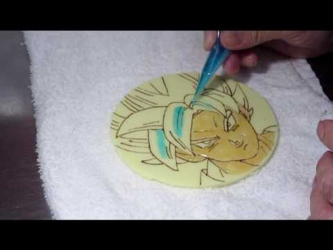 ドラゴンボールzイラストチョコプレート Youtube
