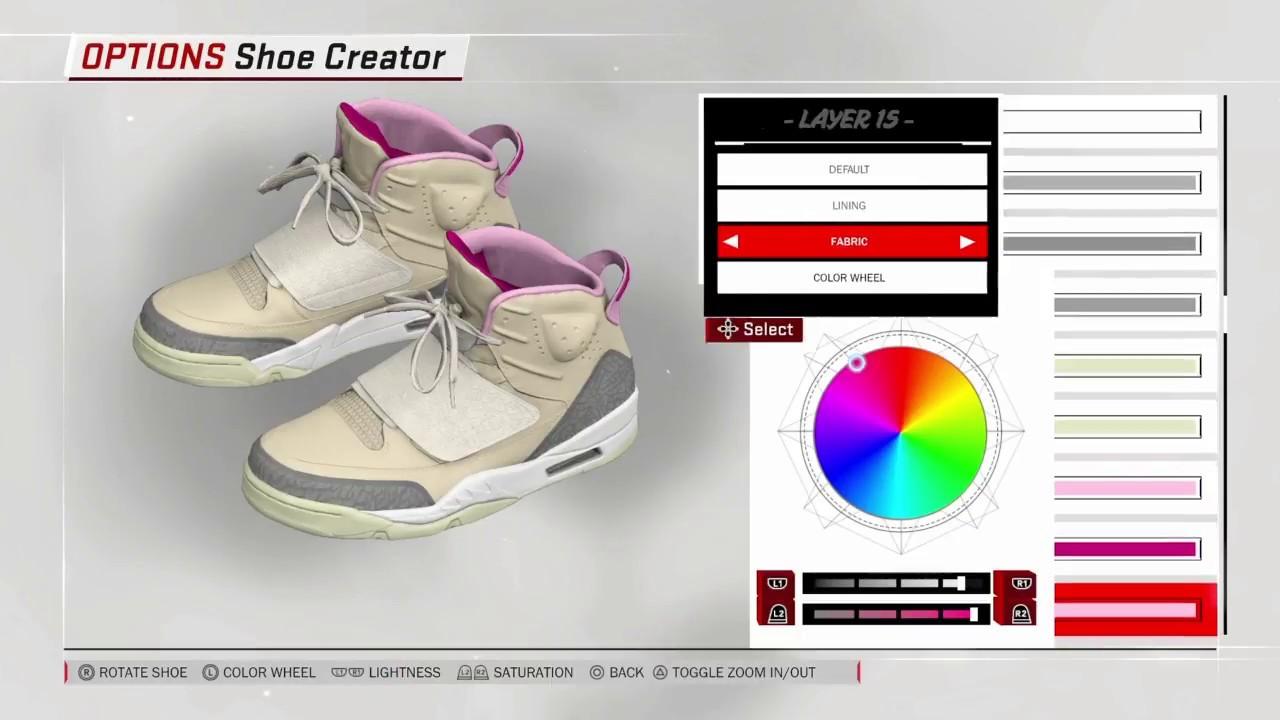 b776ca4d904ed NBA 2K18 Nike Air YEEZY 1 Net - YouTube