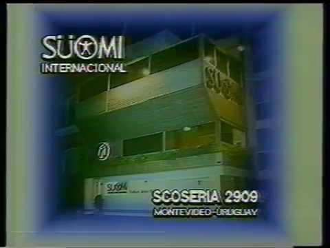 Suomi publicidad antigua - año 1995 - Uruguay