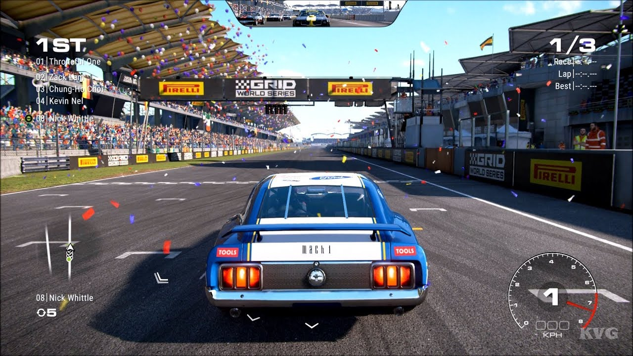 GRID (2019) - Ford Mustang Mach 1 Modified Gameplay (PC HD ...