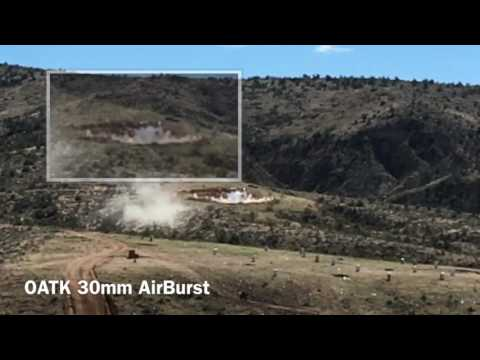 30mm Airburst Slow Motion