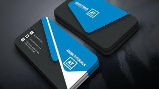 Tutorial | Corporate Business Card Design | Adobe Illustrator CC